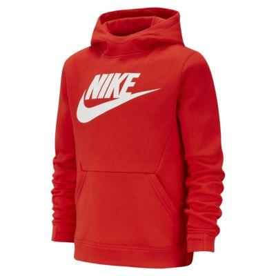 Sweat à capuche en tissu Fleece Nike Sportswear pour Garçon