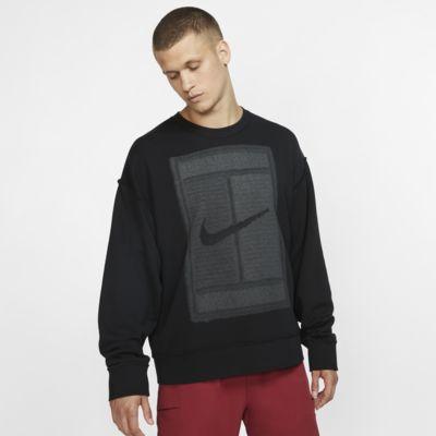 Ανδρική φλις μπλούζα τένις διπλής όψης NikeCourt