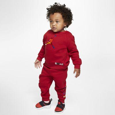 Jordan Jumpman Baby (12–24M) Crew and Joggers (2-Piece Set)