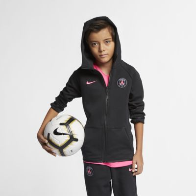 Paris Saint-Germain Tech Fleece Older Kids' Full-Zip Hoodie