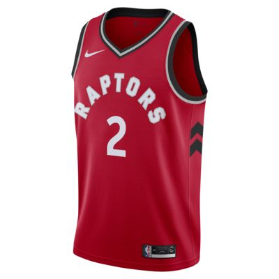 Kawhi Leonard Icon Edition Swingman (Toronto Raptors) Men's Nike NBA Connected Jersey
