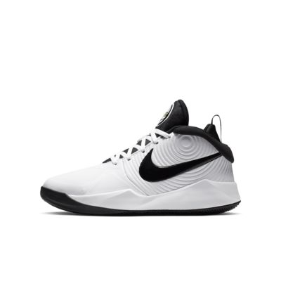 Nike Team Hustle D 9 basketsko til store barn