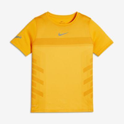 Теннисная футболка для мальчиков школьного возраста NikeCourt Rafa