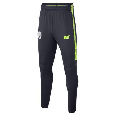 Pantalones de fútbol para niños talla grande Manchester City FC Dri-FIT Squad