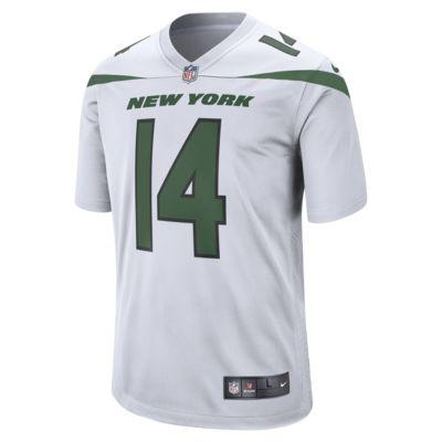 NFL New York Jets (Sam Darnold) Men's Game Football Jersey