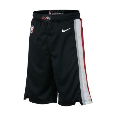 Portland Trail Blazers Nike Icon Edition Swingman Big Kids' (Boys') NBA Shorts