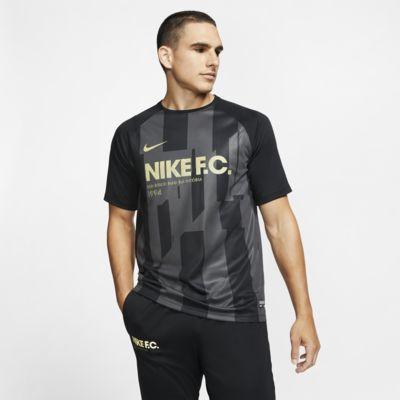 Pánský dres Nike F.C. s krátkým rukávem