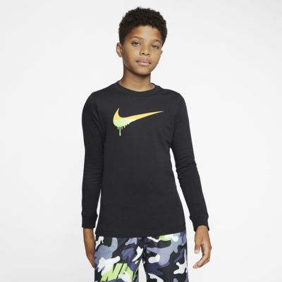 Nike Sportswear Big Kids' Long-Sleeve T-Shirt