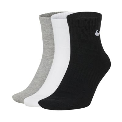 Nike Everyday Lightweight Ankle Calcetines de entrenamiento (3 pares)