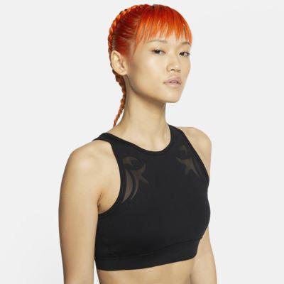 Nike Women's Mesh Medium-Support Sports Bra