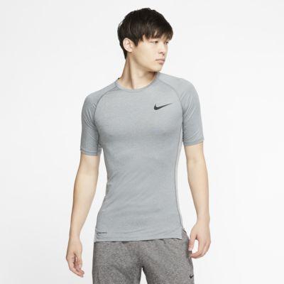 Haut à manches courtes et coupe ajustée Nike Pro pour Homme