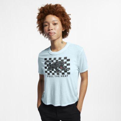 Γυναικεία μπλούζα με κοντό μήκος Hurley Feel The Heat Burnout