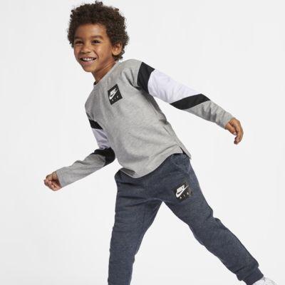 Nike Air Langarm-Oberteil für jüngere Kinder