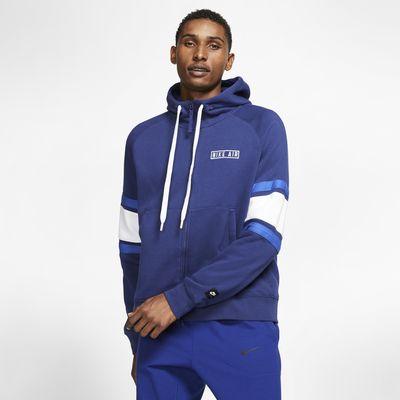 Nike Air Fleece-Hoodie mit durchgehendem Reißverschluss für Herren