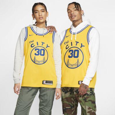 Stephen Curry Warriors Classic Edition Nike NBA Swingman Jersey