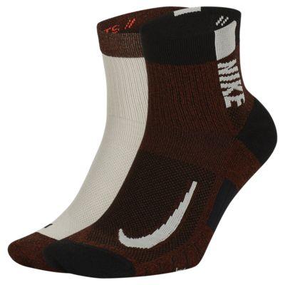 Calze alla caviglia Nike Multiplier (2 paia)