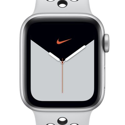 Apple Watch Nike Series 5 (GPS) with Nike Sport Band 44mm Silver Aluminum Case