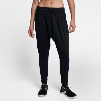 Dámské tréninkové kalhoty Nike Dri-FIT Lux Flow se středně vysokým pasem