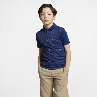 Nike Dri-FIT Big Kids' (Boys') Printed Golf Polo