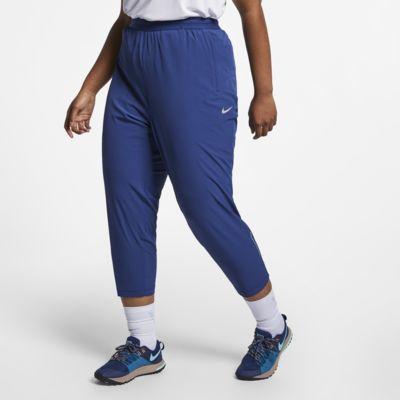 Damskie spodnie do biegania 7/8 Nike Essential (duże rozmiary)
