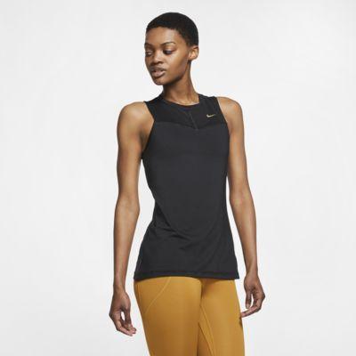 Nike Pro Fierce-træningstanktop til kvinder