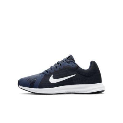 Беговые кроссовки для мальчиков школьного возраста Nike Downshifter 8, Полночно-синий/Темно-синий/Черный/Белый, 20863955, 12086783  - купить со скидкой