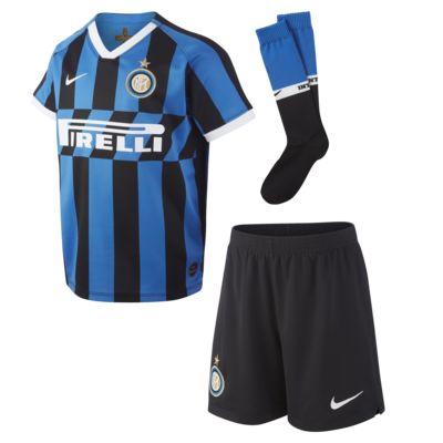 Kit de fútbol de local para niños talla pequeña del Inter de Milán 2019/20