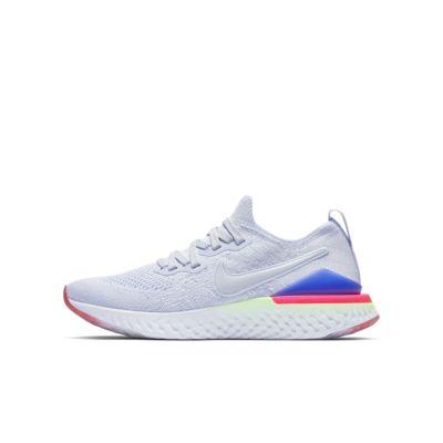 d44401ca9fc8e Nike Epic React Flyknit 2 Big Kids  Running Shoe. Nike.com