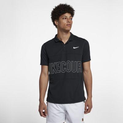 Polo da tennis con grafica NikeCourt Dri-FIT - Uomo