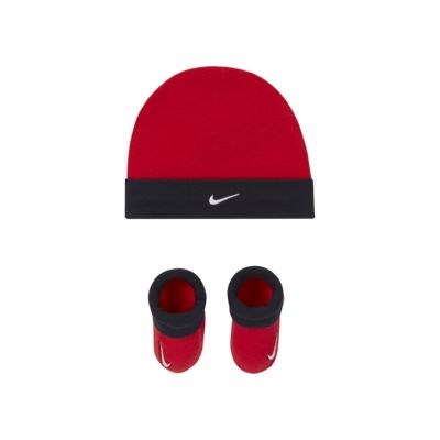 Nike Baby Hat and Booties Set