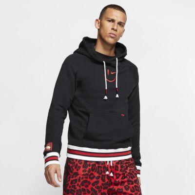 Nike-basketballhættetrøje til mænd