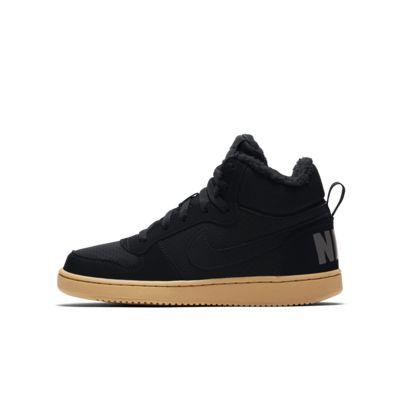Nike Court Borough Mid Winter sko til store barn