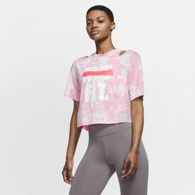 Nike Women's Short-Sleeve Graphic Training Top