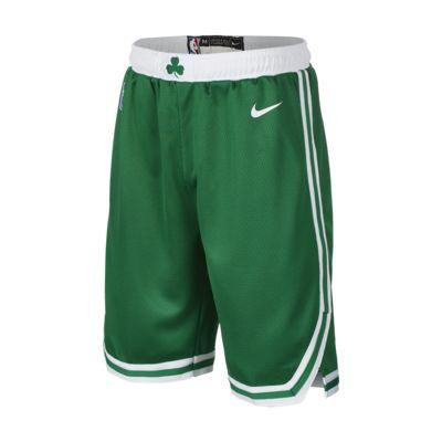 波士顿凯尔特人队 Nike Icon Edition Swingman 大童(男孩)NBA 短裤