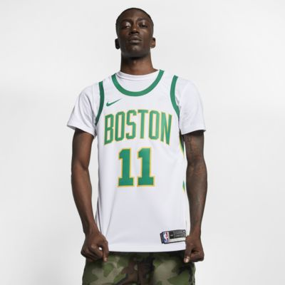 Maillot connecté Nike NBA Kyrie Irving City Edition Swingman (Boston Celtics) pour Homme