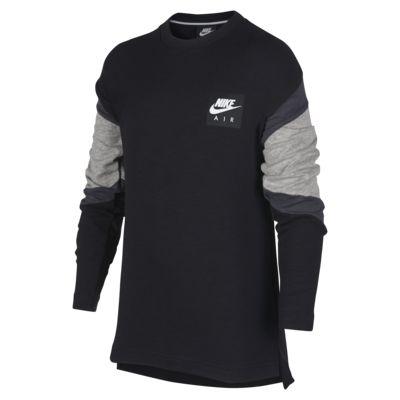 Nike Air Older Kids' (Boys') Long-Sleeve Top