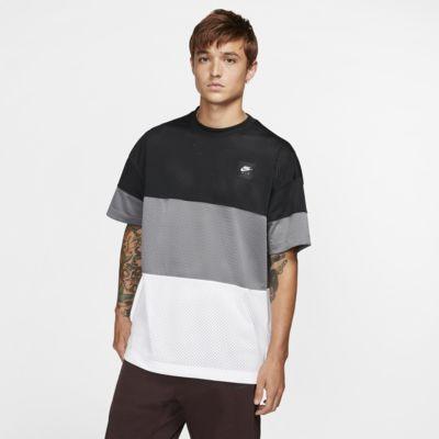 Haut en maille à manches courtes Nike Air pour Homme