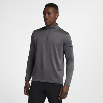 Nike Dri-FIT Half-Zip Langarm-Golfoberteil für Herren