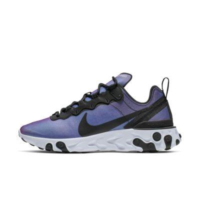 Купить Женские кроссовки Nike React Element 55 Premium, Черный/Active Pink/Белый/Черный, 22844489, 12544955