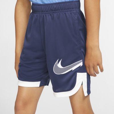 กางเกงเทรนนิ่งขาสั้นเด็กโตพิมพ์ลาย Nike (ชาย)