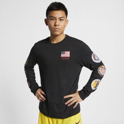 Nike PG NASA Men's Long-Sleeve Basketball T-Shirt