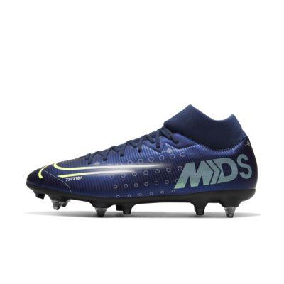 Nike Mercurial Superfly 7 Academy MDS SG-PRO Anti-Clog Traction Fußballschuh für weichen Rasen