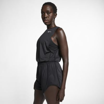 Dámský krátký běžecký overal Nike Dri-FIT