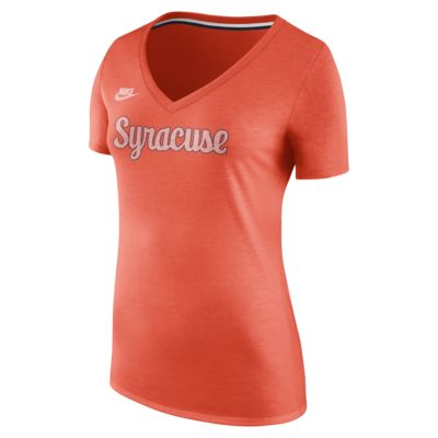 Nike College (Syracuse) Women's V-Neck T-Shirt