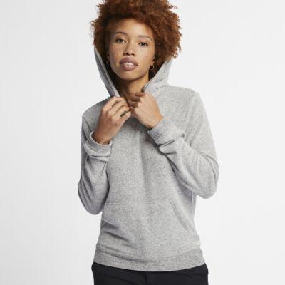Fleecehuvtröja i pullovermodell Hurley Chill för kvinnor