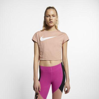 Nike Sportswear Camiseta corta de manga corta con Swoosh - Mujer