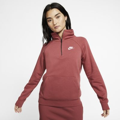 Nike Sportswear Essential Women's 1/4-Zip Fleece Top