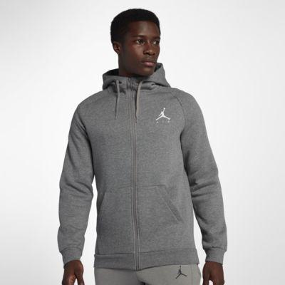 Felpa in fleece con cappuccio e zip a tutta lunghezza Jordan Jumpman - Uomo