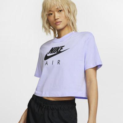 Prenda para la parte superior de manga corta para mujer Nike Air