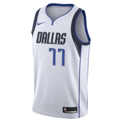 Maillot connecté Nike NBA Luka Doncic Association Edition Swingman (Dallas Mavericks) pour Homme